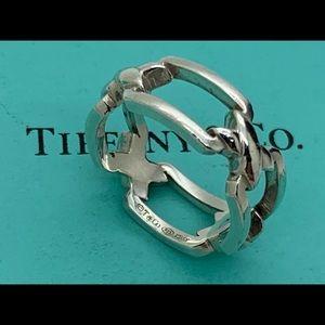 Tiffany & Co.925 Italy Vintage Ring Size 8